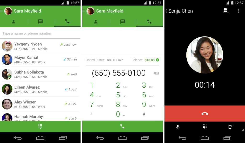 Google Hangouts Free Voip Calling